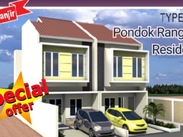 Pondok Ranggon Residence Rumah Murah Type 72/65 SHM IMB Lengkap Siap KPR